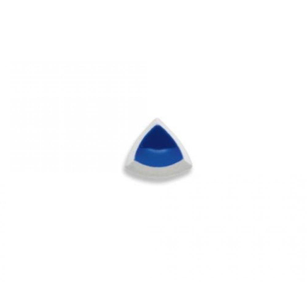 Havuz Porselen iç Bükey 4cmx4cm Kobalt